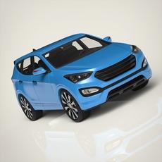 Sport car Rovan 3D Model