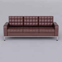 Sofa 04 3D Model