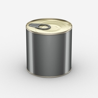 Free Cans For Food 400g 3D Model