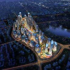 City Planning 036 3D Model