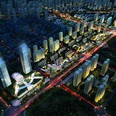 City Planning 038 3D Model