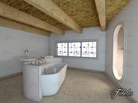 Bathroom 56 3D Model
