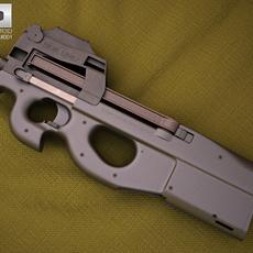 FN P90 3D Model