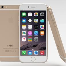 Iphone 6 Gold 3D Model