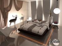 Bedroom 07 3D Model