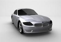 Free BMW Z4 3D Model