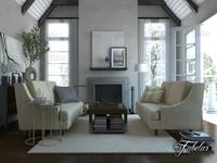 Living room 25 3D Model