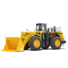 Wheel loader Komatsu WA900 3D Model