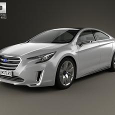 Subaru Legacy 2015 3D Model