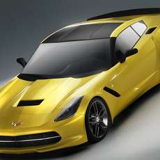 Chevrolet Corvette Stingray 2014 3D Model