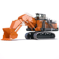 Hitachi EX8000 Loader Excavator 3D Model