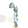 Robot cartoon 02 3D Model
