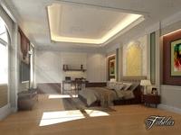 Bedroom 08 3D Model