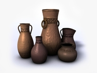 Ancient vases vol.4 3D Model