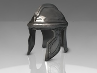Ancient Helmet 3D Model