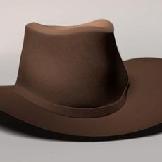 Western Hat 3D Model
