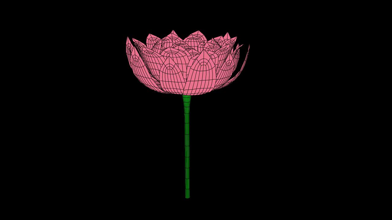 Lotus flower 3d model 18 36 58 73 lotus 4 18 36 58 540 wirepaper 4 izmirmasajfo