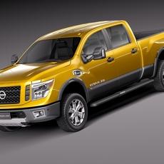 Nissan Titan XD 2016 3D Model