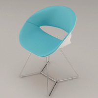 chair - kusch 8250 volpino 3D Model