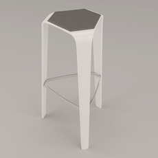 Brunner hoc stool 3D Model