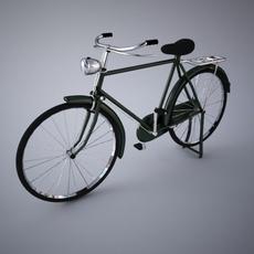 Classic Bicyle 3D Model