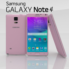 Samsung Galaxy Note 4 Pack 3D Model