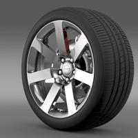 Chrysler 300 SRT8 wheel 3D Model