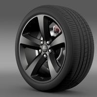 Chrysler 300S wheel 3D Model