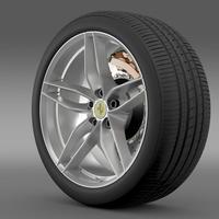 Ferrari 488 GTB 2015 wheel 3D Model