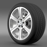Mercedes Benz C 300 Exclusive line wheel 3D Model