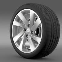 Seat Mii wheel 3D Model