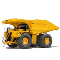 Mining Rigid Dump Truck 793D 3D Model