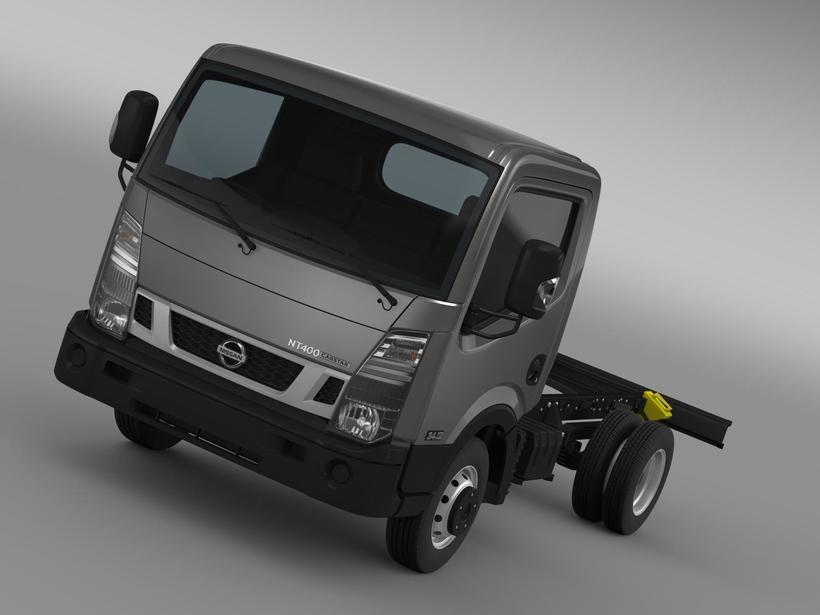 Nissan NT400 Cabstar 2014 Chassi 3D Model
