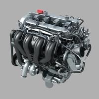 Cylinder engine 01 3D Model