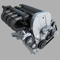 Cylinder Engine 02 3D Model