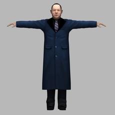 asian man 03 3D Model