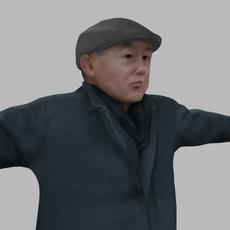 asian man 05 3D Model