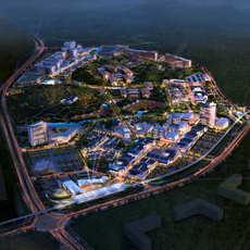 City shopping mall 035 3D Model