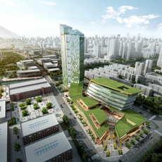 City shopping mall 037 3D Model