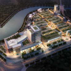 City shopping mall 044 3D Model