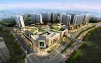 City shopping mall 047 3D Model
