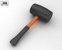 Rubber Mallet 3D Model