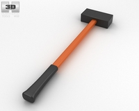 Drilling Hammer 3D Model