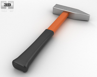 Engineer's Hammer 3D Model