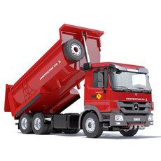 Mercedes Actros Dumper 3D Model