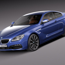 BMW 6-Series Coupe 2015 3D Model