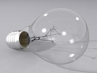 Light Bulb 3D 3D Model