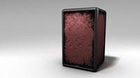 Free Grunge Box 3D Model
