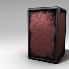 Grunge Box 3D Model