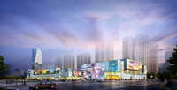 City shopping mall 073 3D Model